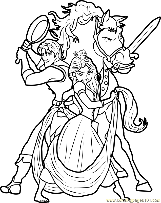 tangled the series coloring pages tangled the series coloring pages printable pages series tangled the coloring