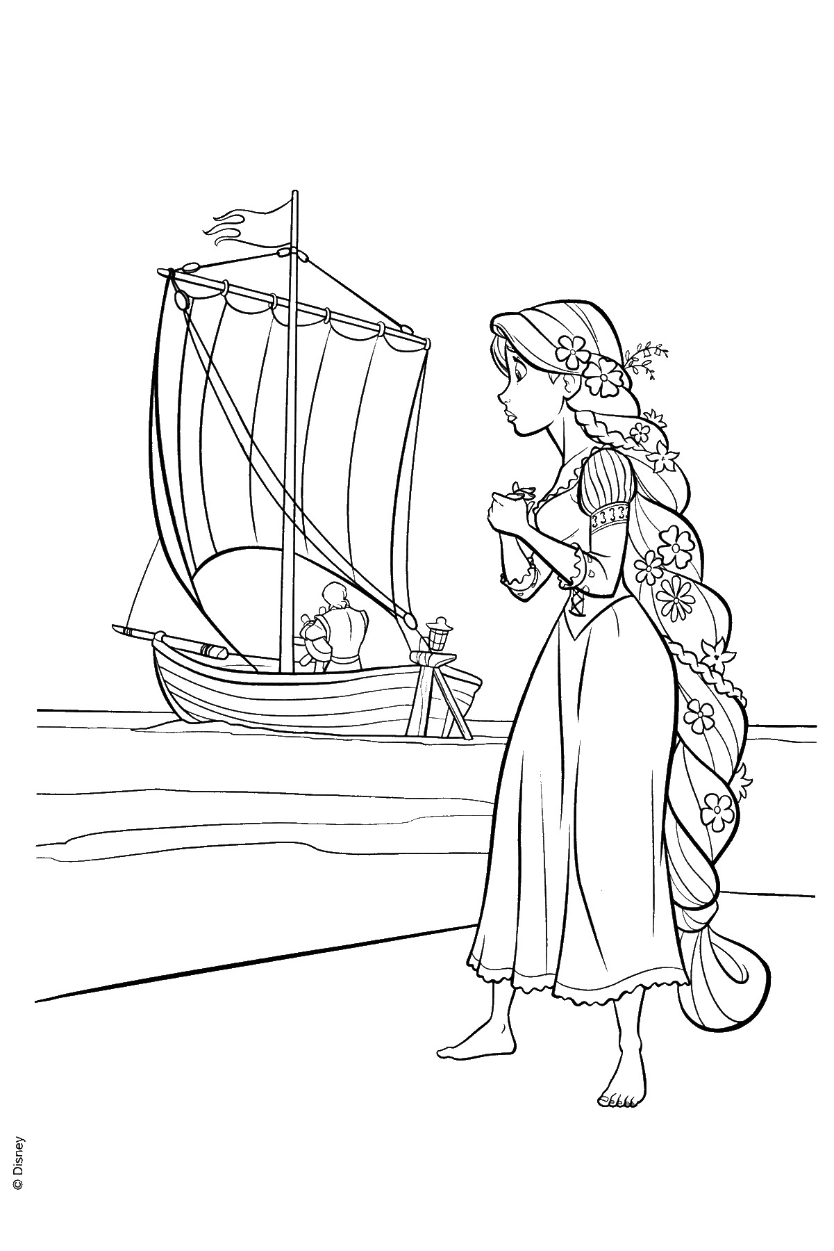tangled the series coloring pages tangled the series coloring pages printable tangled the series coloring pages