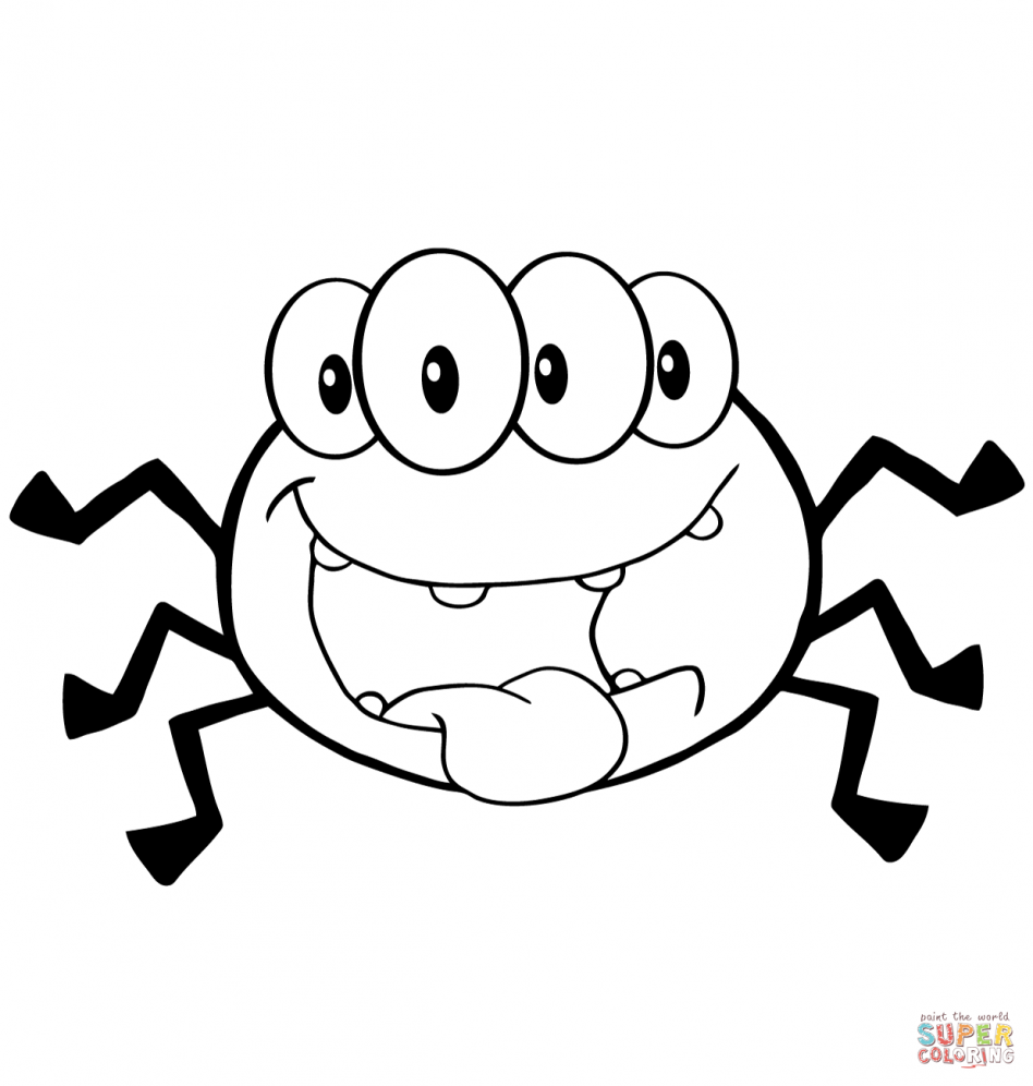 tarantula coloring pages cute spider coloring pages at getcoloringscom free coloring tarantula pages