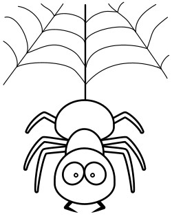 tarantula coloring pages cute spider coloring pages at getcoloringscom free tarantula coloring pages