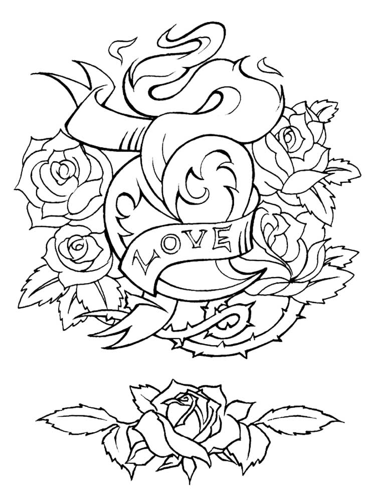 tattoo coloring pages printable free 18 printable adult coloring pages in ai coloring pages printable tattoo