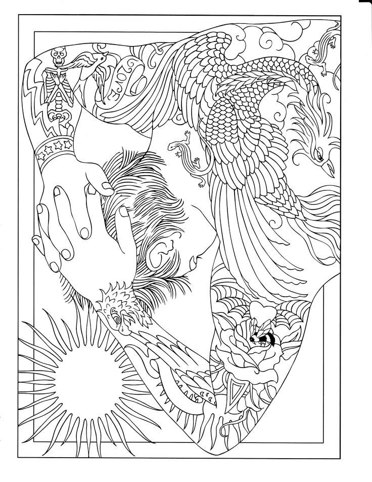 tattoo coloring pages printable free tattoo coloring pages for adults printable to tattoo pages printable coloring