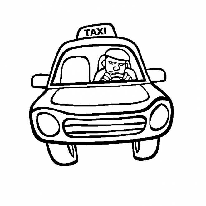 taxi colouring pages quottaxiquot memollow to print coloring pages for kids taxi colouring pages