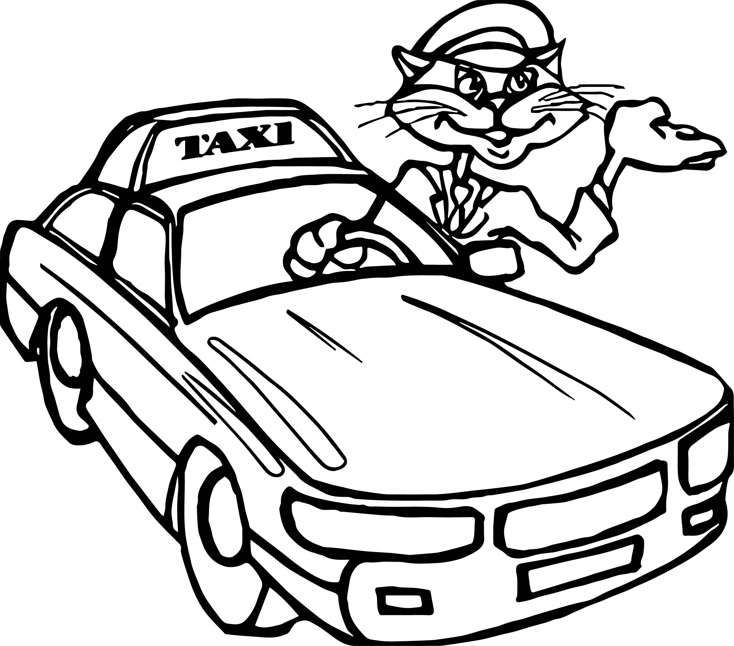 taxi colouring pages taxi coloring pages to download and print for free taxi pages colouring