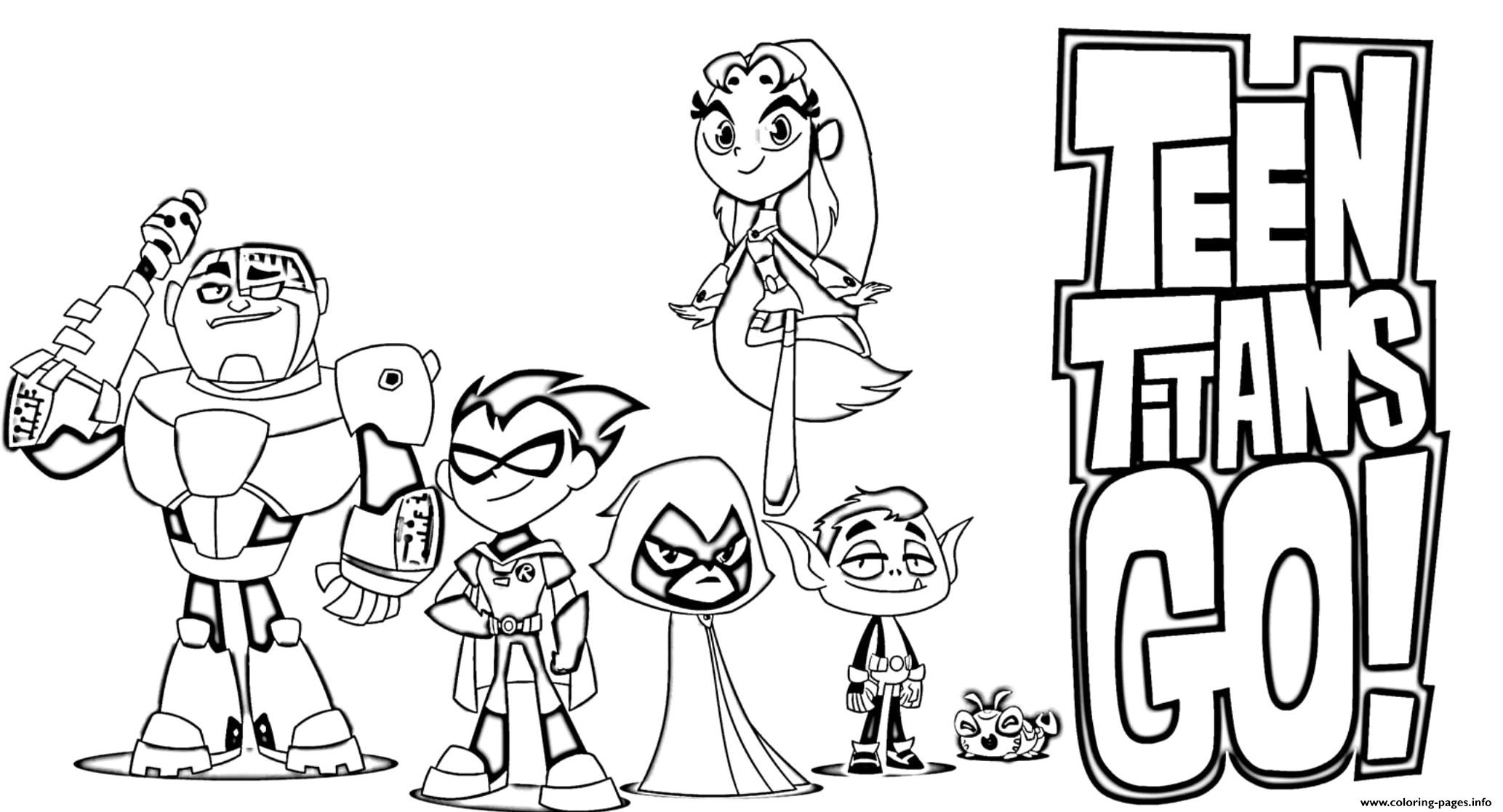 teen titans go color pages team titans coloring pages at getdrawings free download titans color pages go teen
