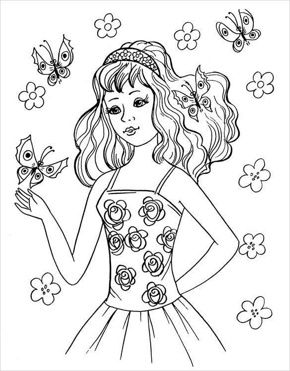 teenage girls coloring pages coloring pages for teens coloringrocks pages coloring teenage girls