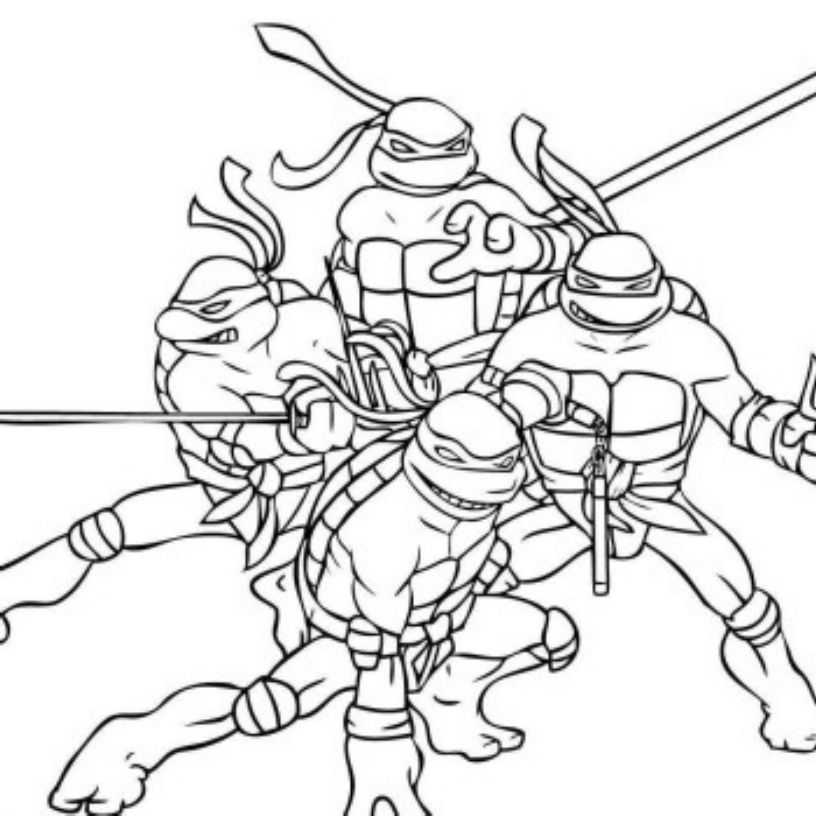 teenage mutant ninja coloring pages teenage mutant ninja turtles coloring pages best coloring mutant teenage pages ninja