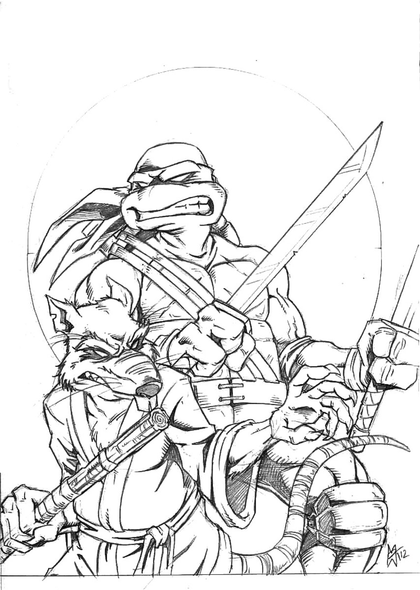 teenage mutant ninja coloring pages teenage mutant ninja turtles coloring pages dibujos pages teenage mutant coloring ninja