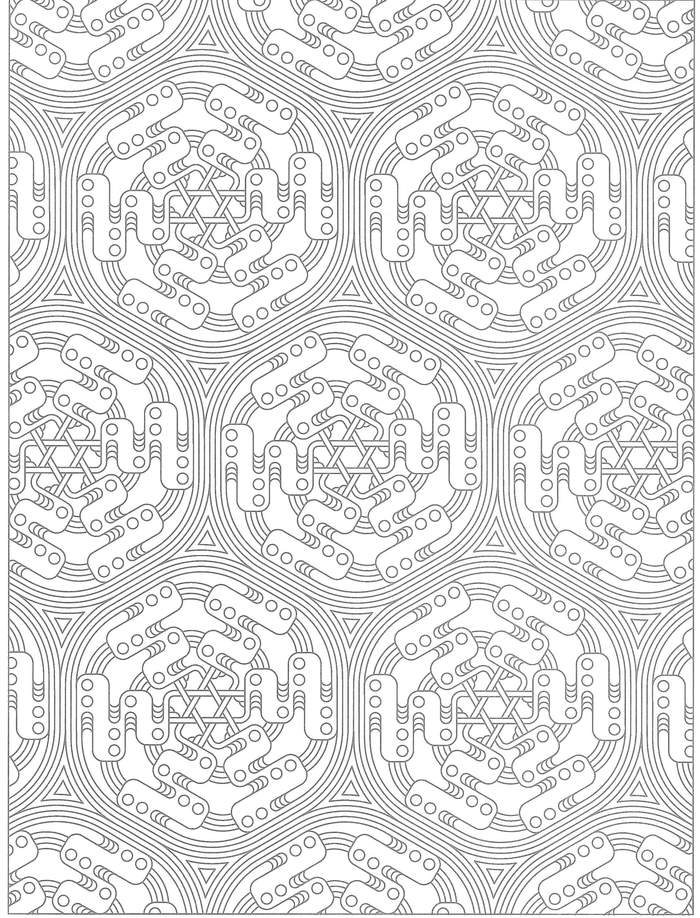 tessellation coloring creative haven tessellations coloring page geometric coloring tessellation