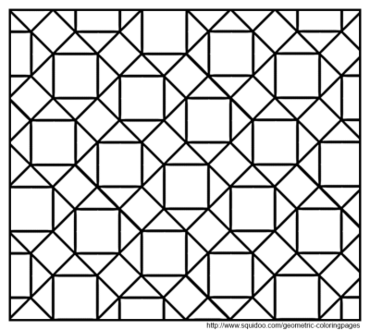 tessellation coloring geometric coloring pages hubpages coloring tessellation