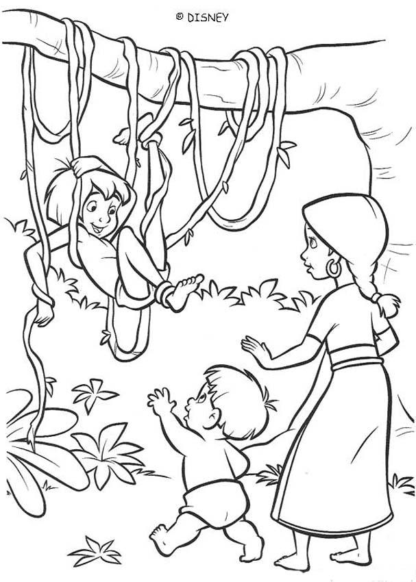 the jungle book coloring pages coloring pages of jungle book coloring home book jungle coloring pages the