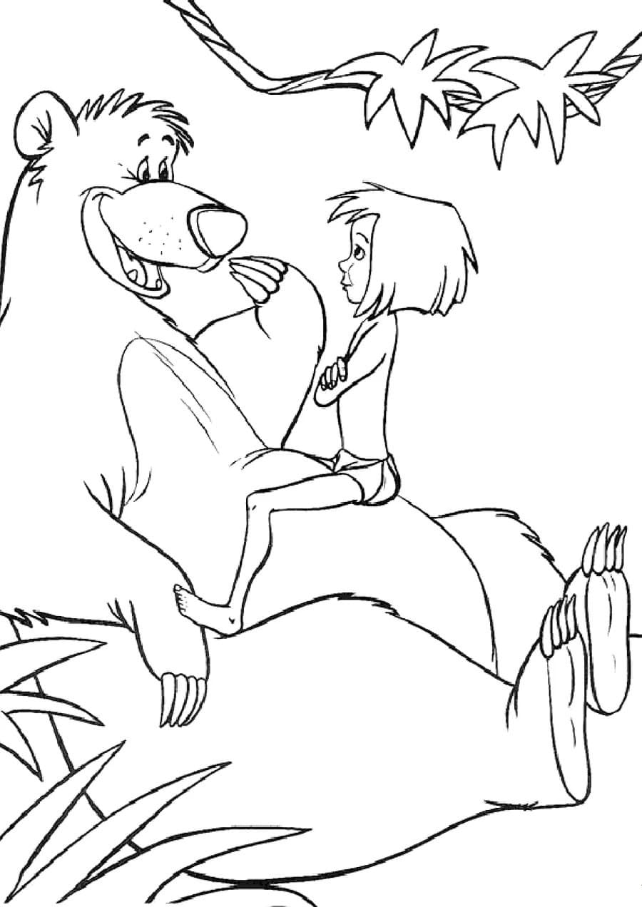 the jungle book coloring pages the jungle book 35 printable find the differences pages the book coloring jungle