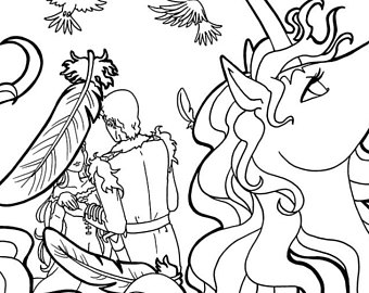 the last unicorn coloring pages the last unicorn coloring pages at getcoloringscom free the last unicorn pages coloring