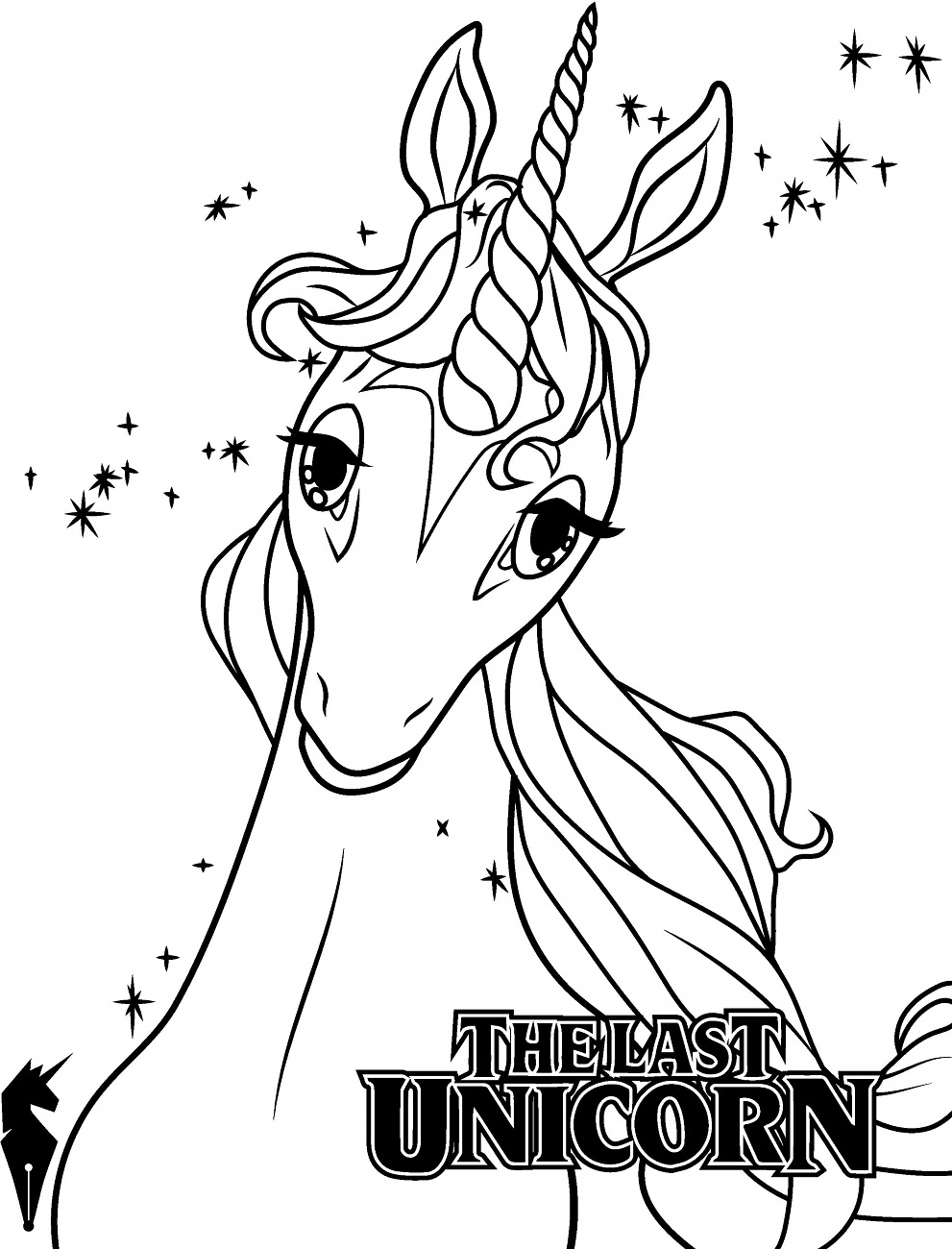 the last unicorn coloring pages the last unicorn movie coloring pages pages the last coloring unicorn