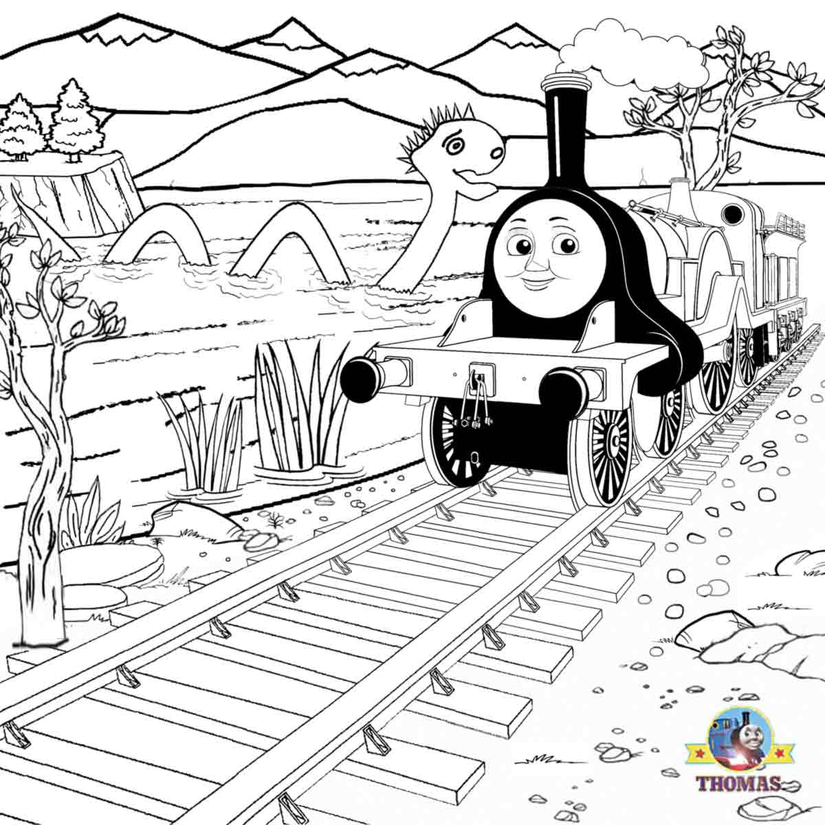 thomas and his friends coloring pages free printable halloween ideas kids activities thomas and coloring friends pages his thomas