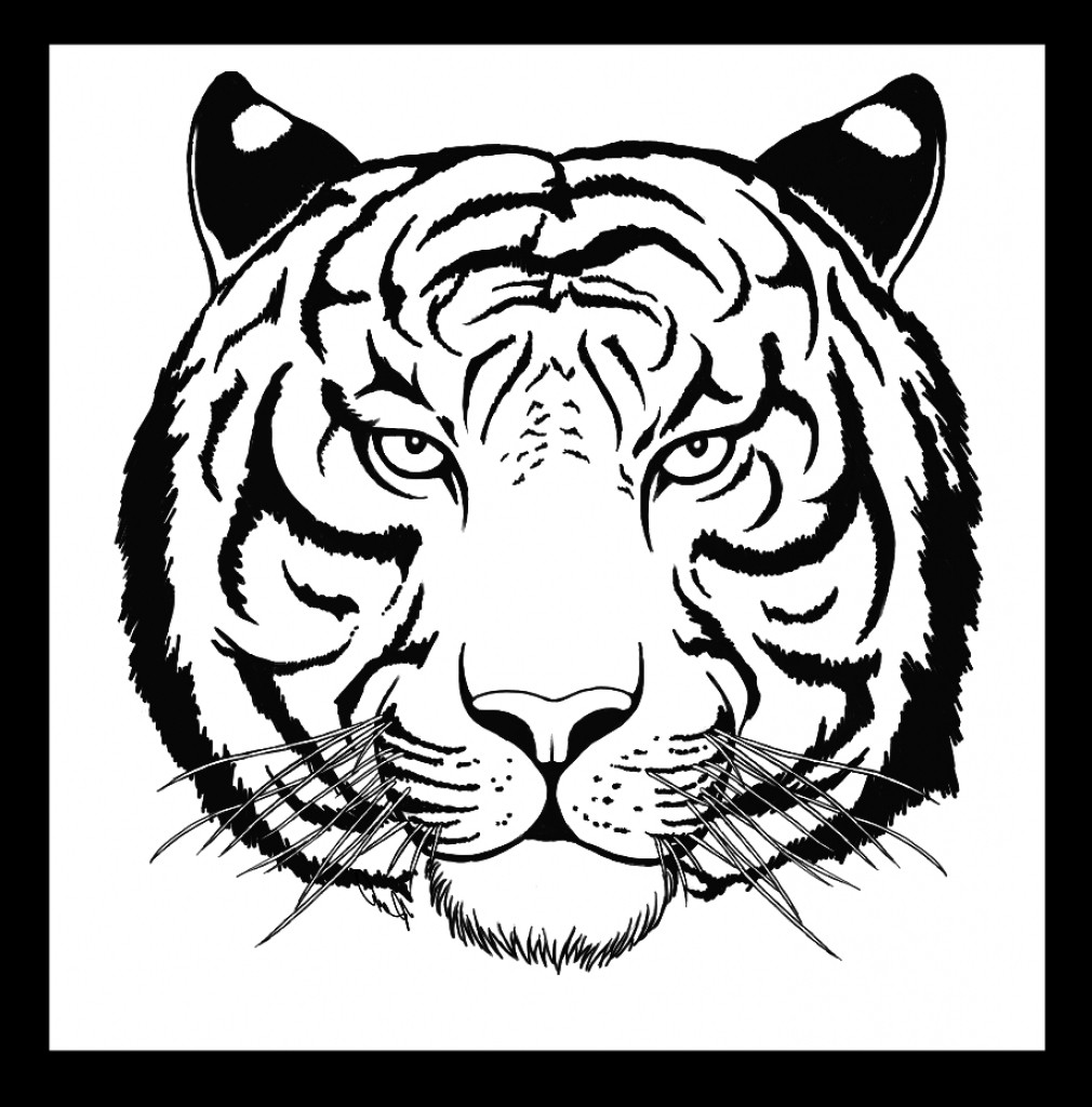 tiger face coloring page tiger face coloring page sketch coloring page tiger page coloring face