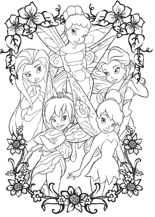 tinkerbell and friends coloring pages coloring pages disney tinkerbell and friends learn to color friends pages coloring and tinkerbell