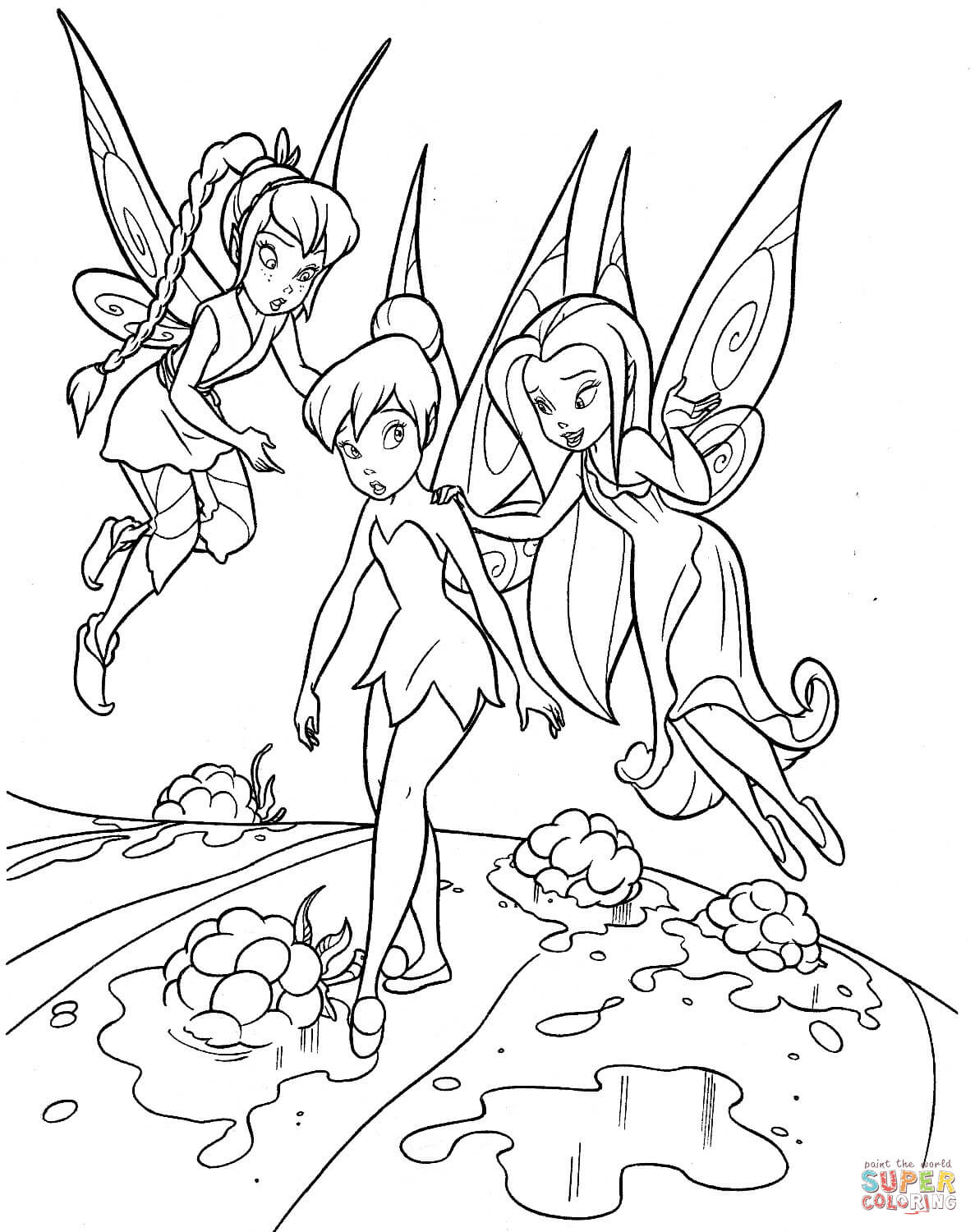 tinkerbell and friends coloring pages coloring pages of tinkerbell and friends coloring home and pages tinkerbell coloring friends