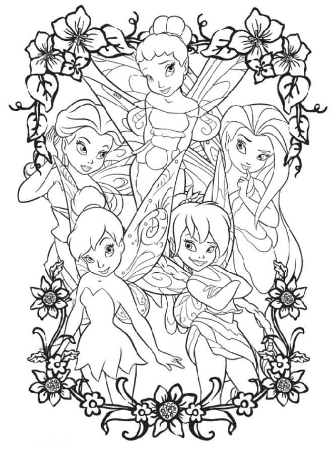 tinkerbell and friends coloring pages tinkerbell friends coloring pages coloring home and coloring tinkerbell friends pages