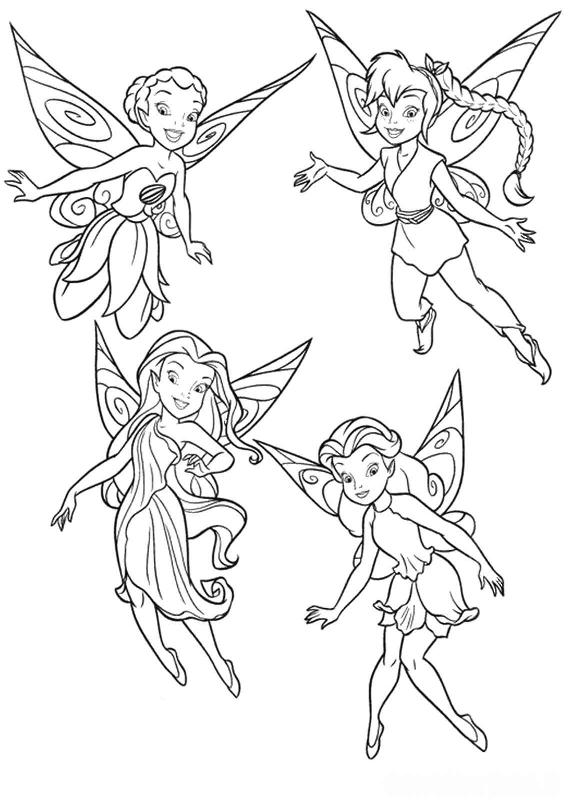 tinkerbell coloring pages free printable coloring pages tinkerbell coloring pages and clip art coloring tinkerbell pages free printable