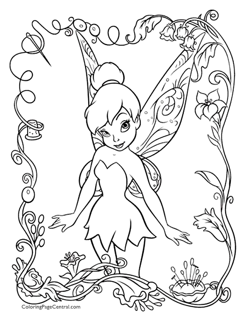 tinkerbell coloring sheets free printable tinkerbell coloring pages for kids sheets coloring tinkerbell