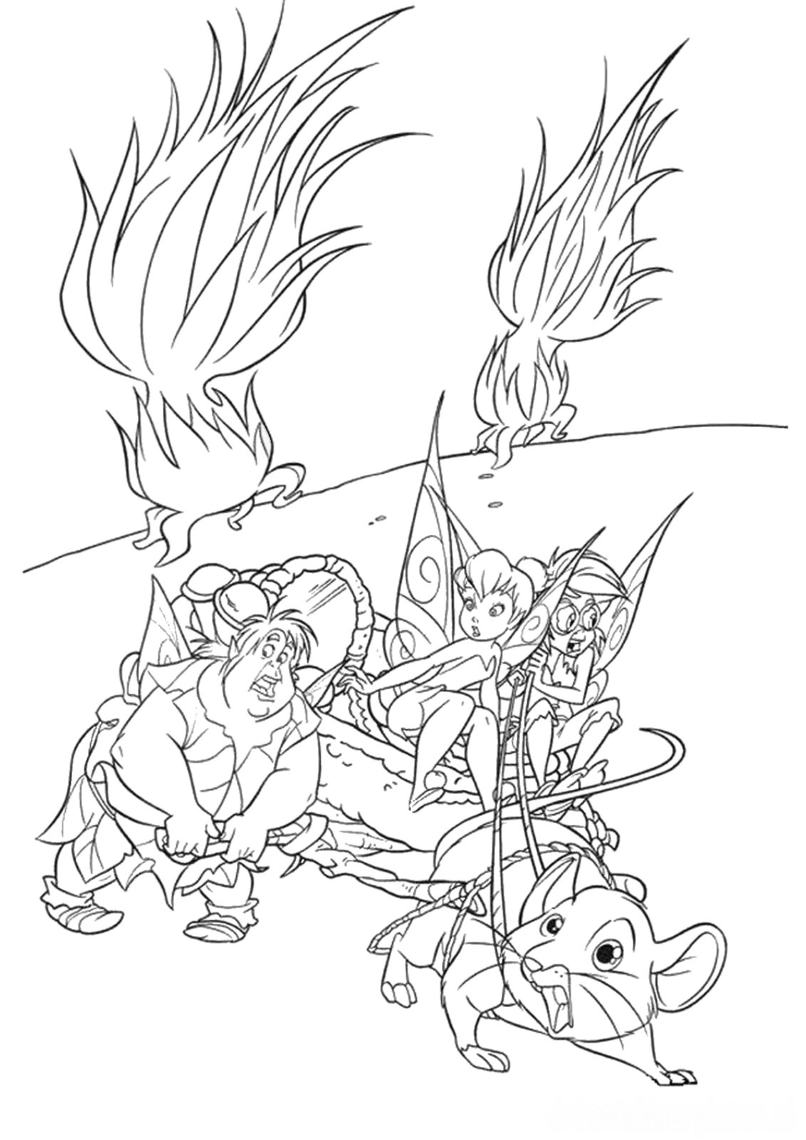 tinkerbell coloring sheets tinkerbell coloring pages sheets coloring tinkerbell
