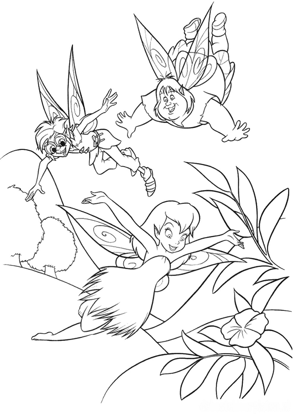 tinkerbell coloring sheets tinkerbell coloring pages tinkerbell sheets coloring
