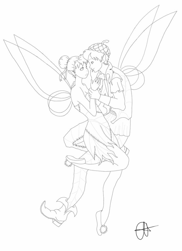 tinkerbell outline tinkerbell svg bundle supports svg dxf eps png free etsy tinkerbell outline