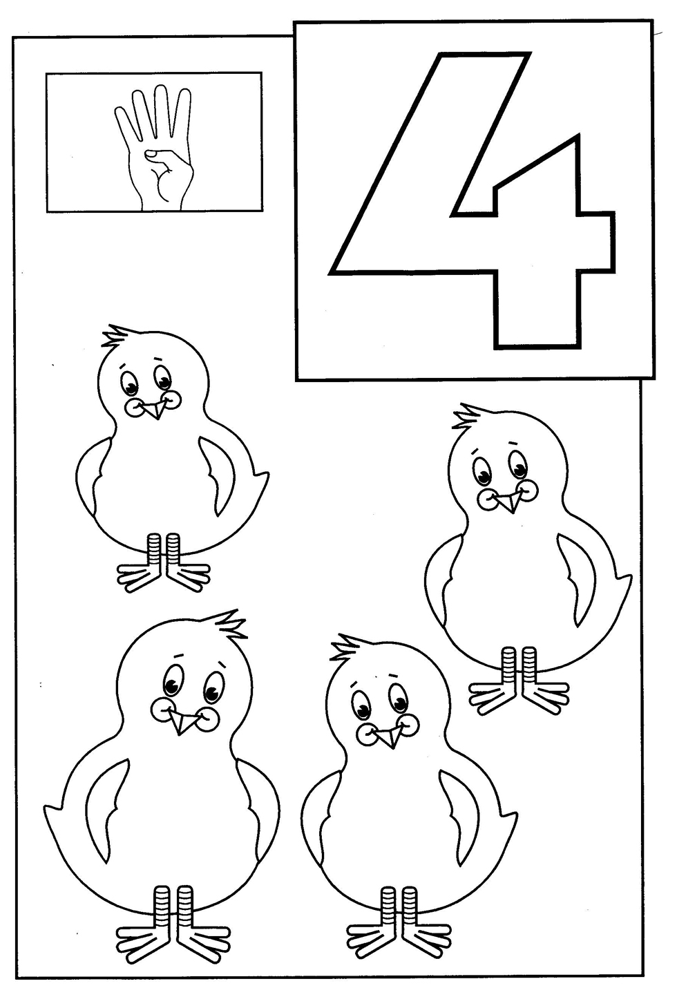 toddler coloring pages numbers 4 kidscom coloring pages kidsuki pages numbers coloring toddler