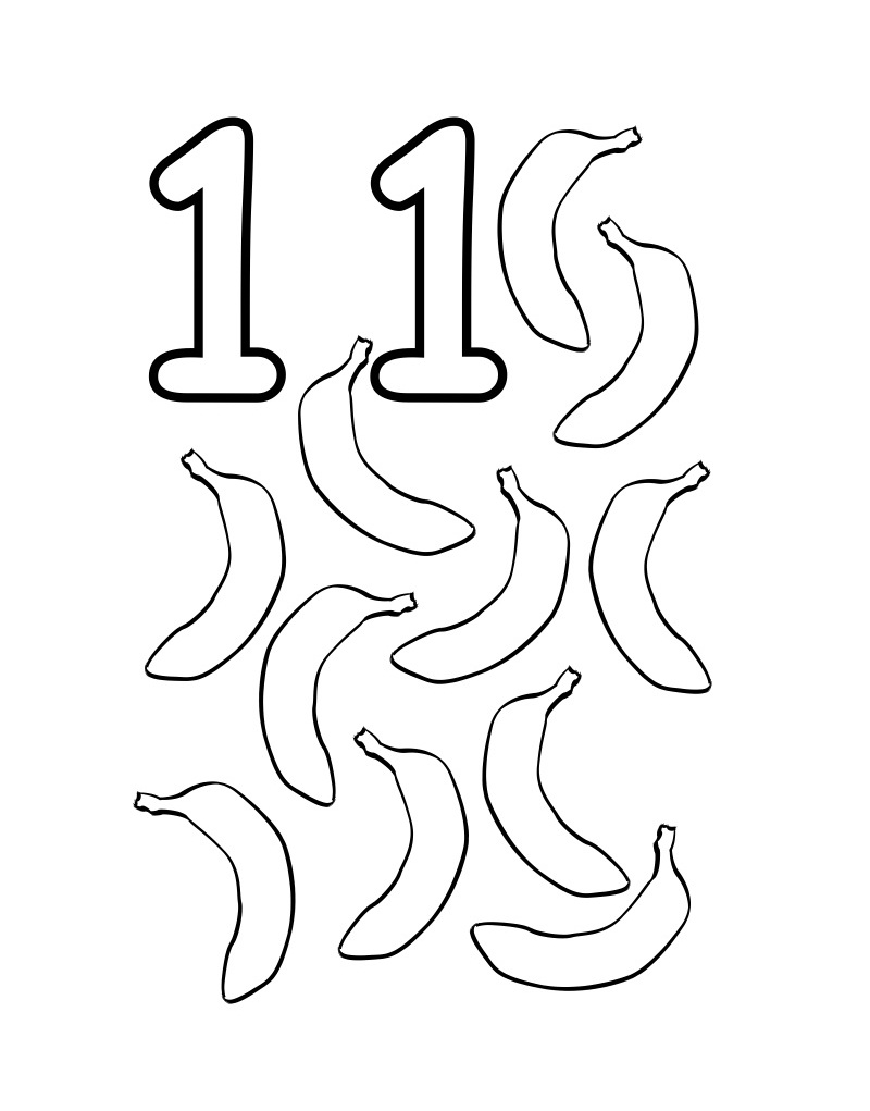 toddler coloring pages numbers free printable number coloring pages for kids numbers pages coloring toddler