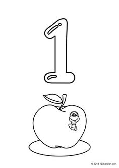 toddler coloring pages numbers free printable number coloring pages for kids numbers toddler pages coloring