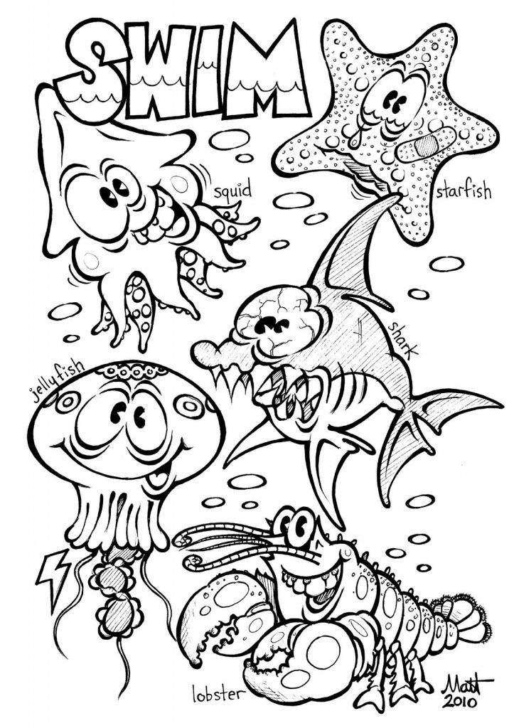 toddler ocean coloring pages 9 best under the sea preschool images on pinterest pages toddler coloring ocean