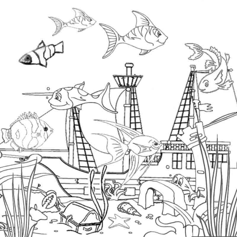 toddler ocean coloring pages ocean coloring pages for preschool coloring home ocean coloring toddler pages