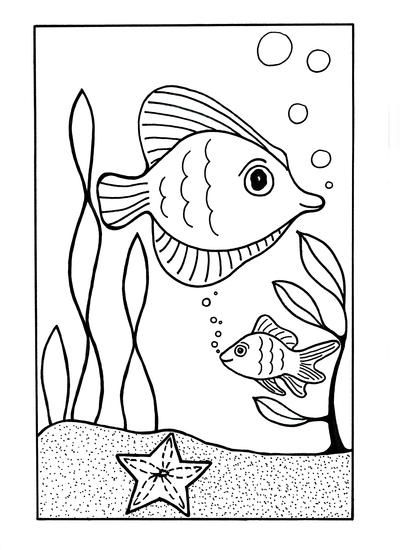 toddler ocean coloring pages under the sea coloring page ocean coloring pages fish toddler coloring pages ocean