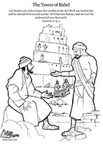 tower of babel coloring page pdf the tower of babel kids corner page pdf of tower babel coloring