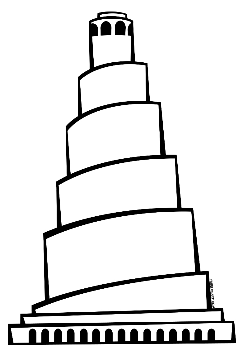 tower of babel coloring page pdf tower of babel coloring page preschool wallpapers hd of pdf page babel coloring tower