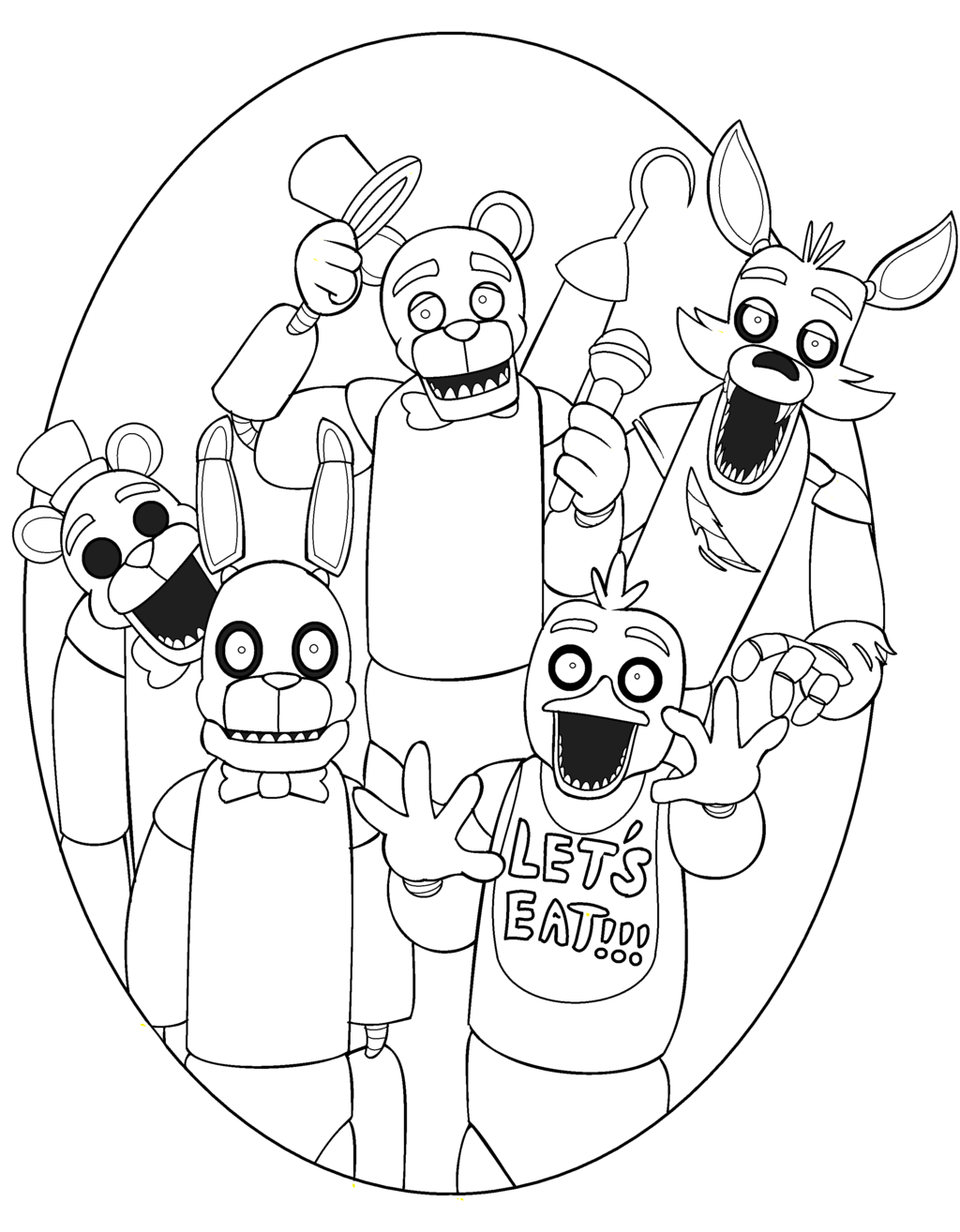 toy freddy coloring pages 7 best colouring images on pinterest coloring books coloring freddy toy pages