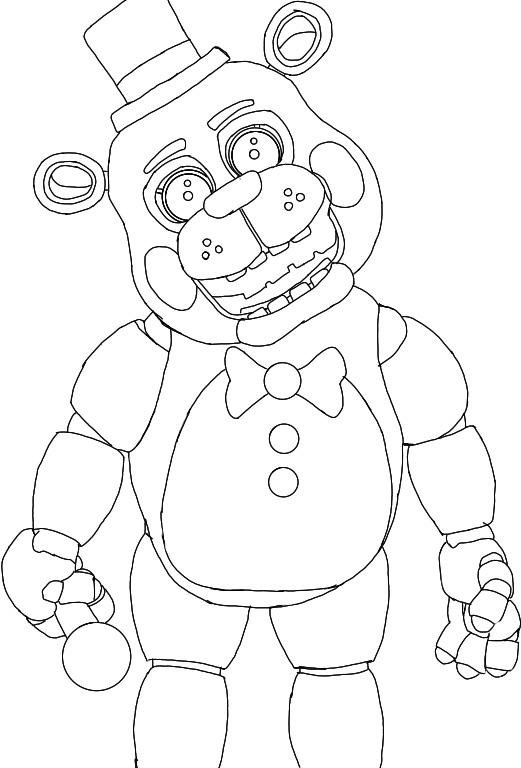 toy freddy coloring pages anime toy freddy tumblr coloring toy pages freddy