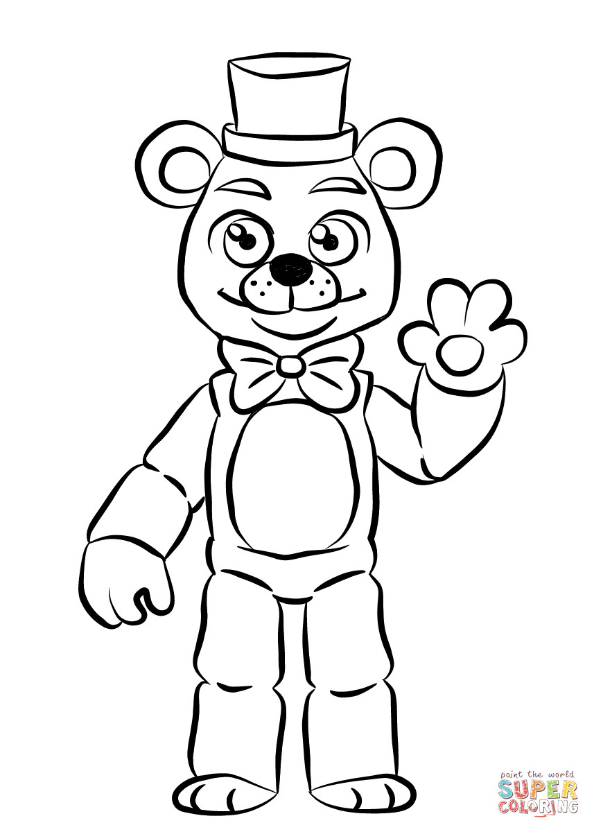 toy freddy coloring pages broken toy freddy coloring pages coloring pages toy freddy coloring pages