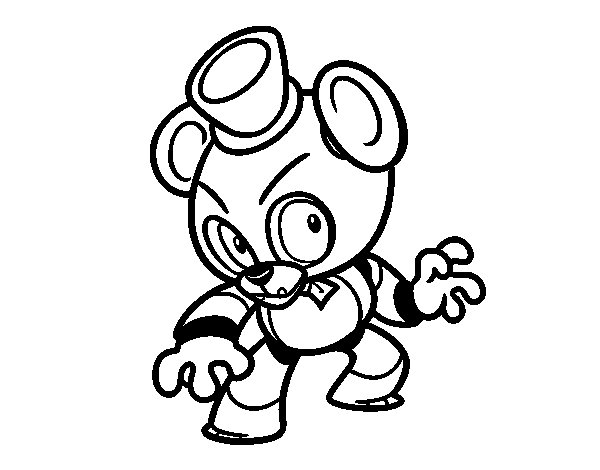toy freddy coloring pages coloring for kids freddy coloring pages phantom freddy coloring freddy toy pages