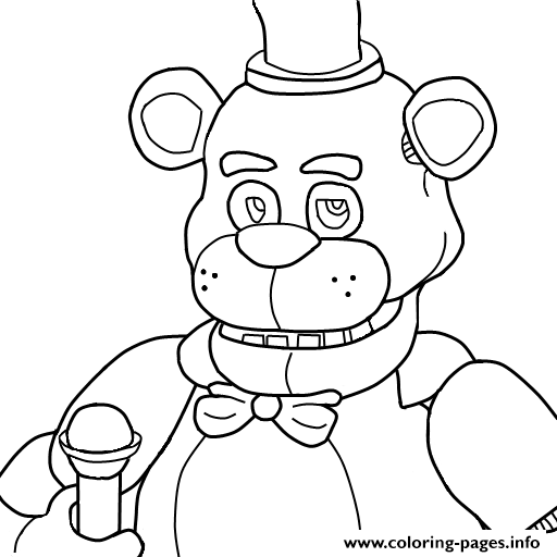 toy freddy coloring pages five nights at freddys 2 free colouring pages freddy toy pages coloring