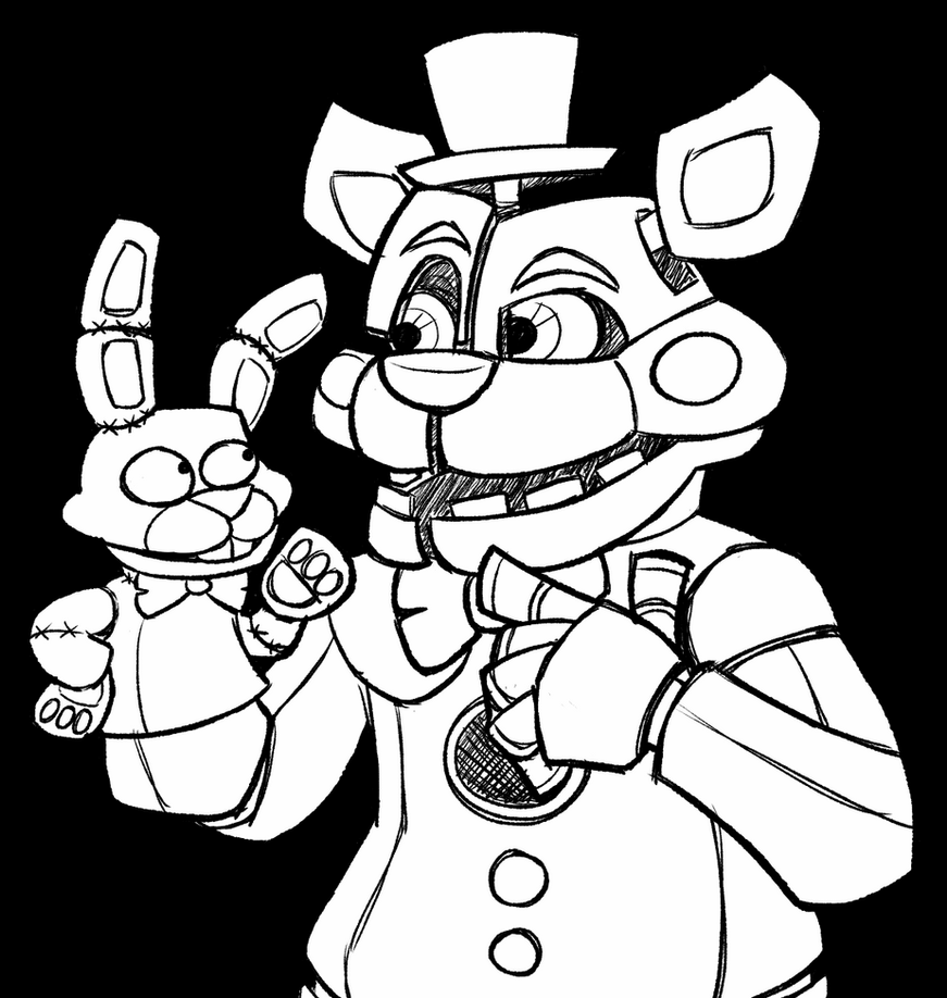 toy freddy coloring pages fnaf all animatronics free coloring pages pages toy freddy coloring