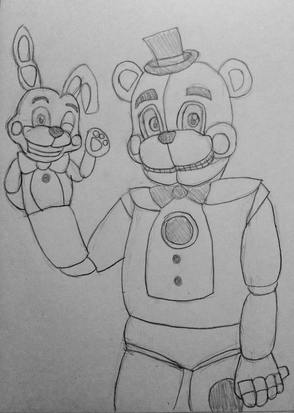toy freddy coloring pages fnaf coloring pages chica at getcoloringscom free coloring pages freddy toy