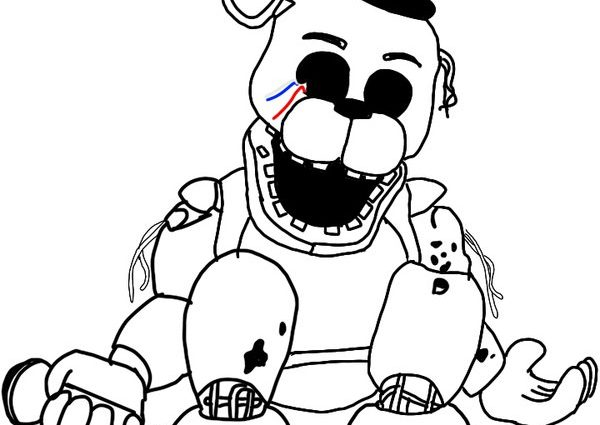 toy freddy coloring pages funtimme foxy and funtime freddy free coloring pages pages freddy coloring toy