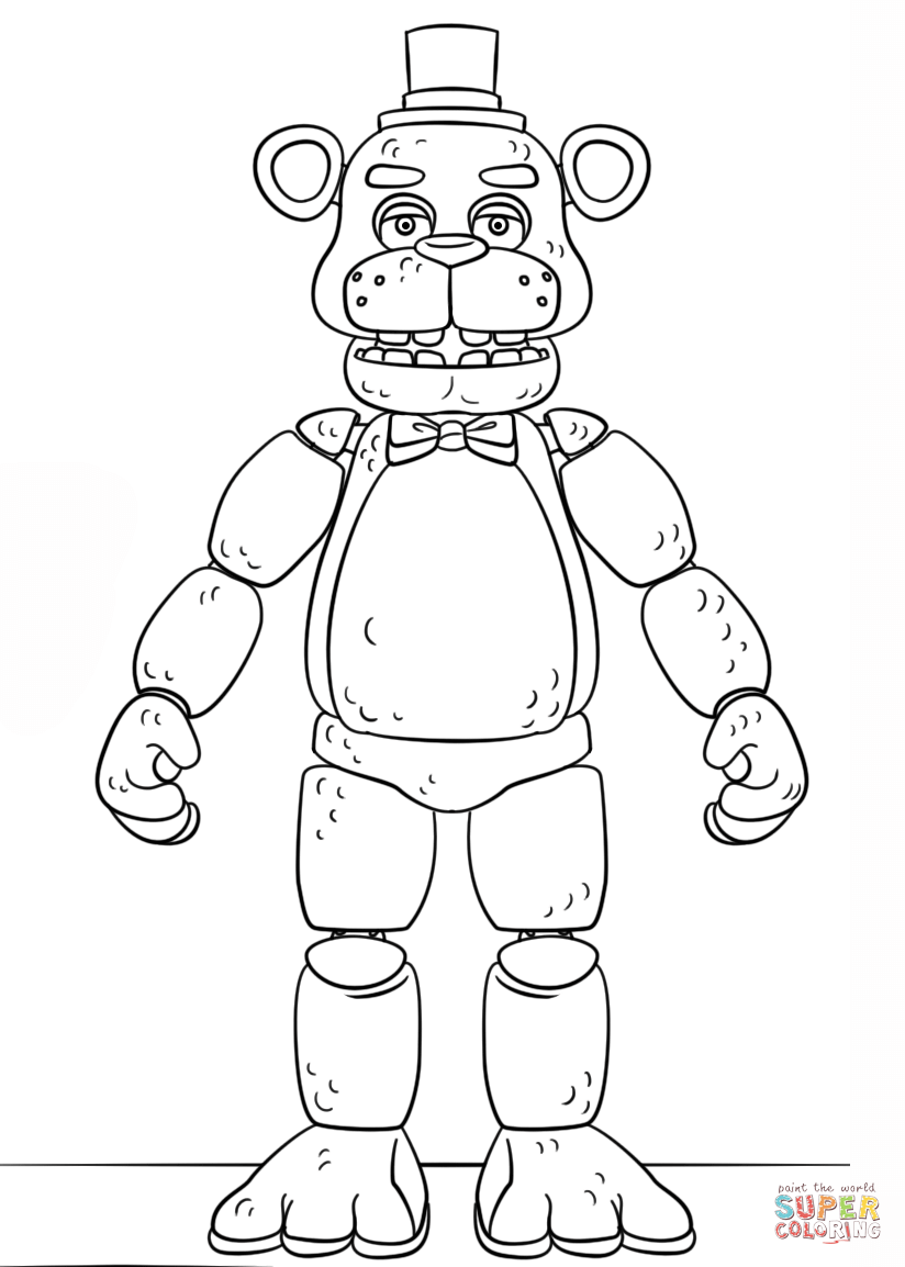 toy freddy coloring pages toy chica jumpscare free coloring pages toy coloring freddy pages