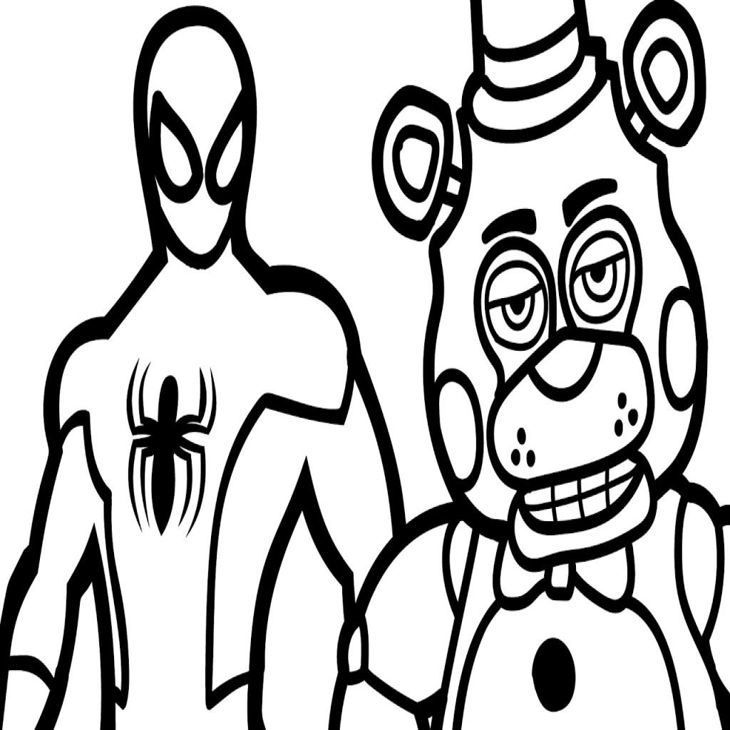 toy freddy coloring pages toy freddy coloring pages at getcoloringscom free freddy coloring toy pages