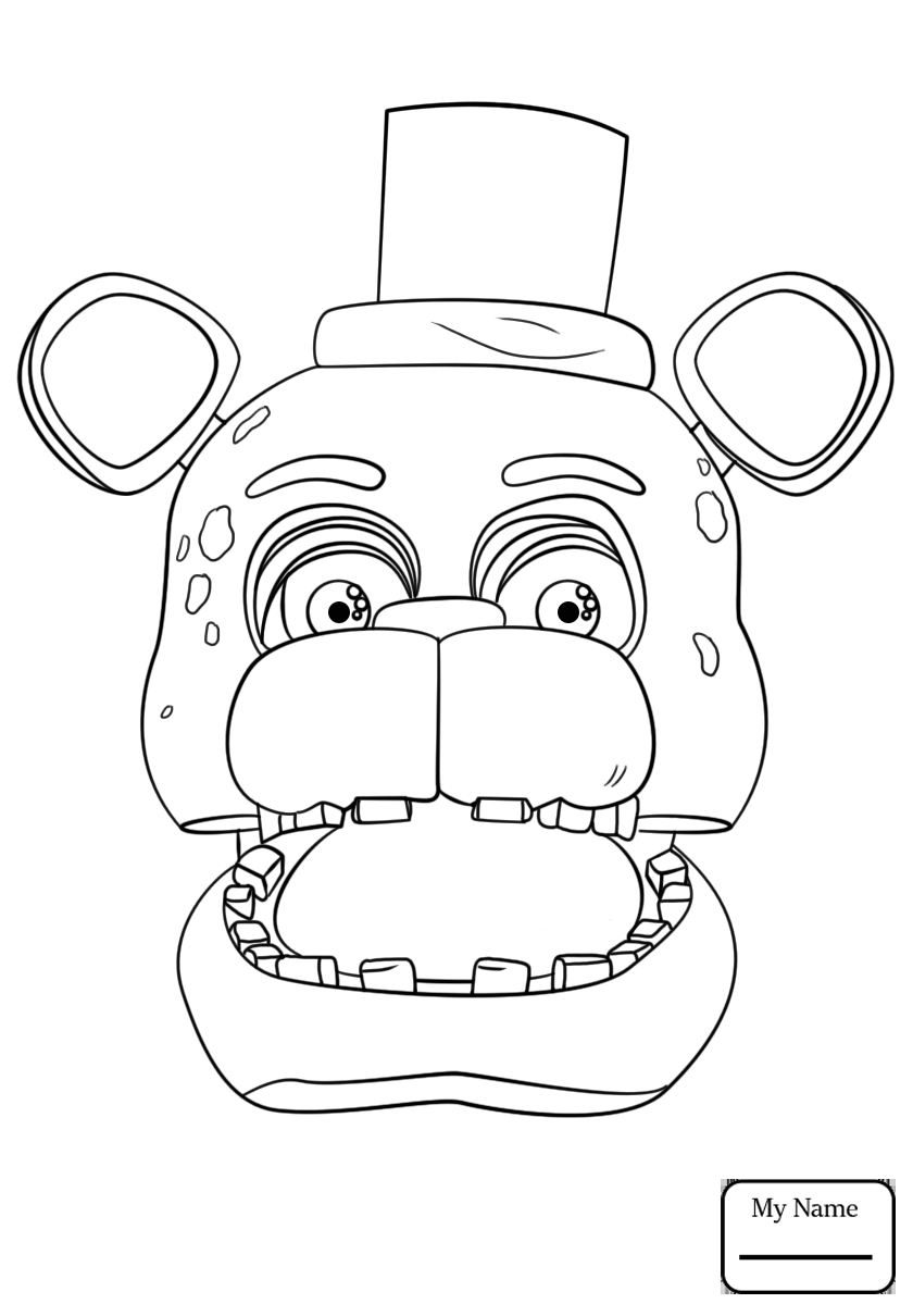 toy freddy coloring pages toy freddy coloring pages at getdrawings free download toy pages coloring freddy