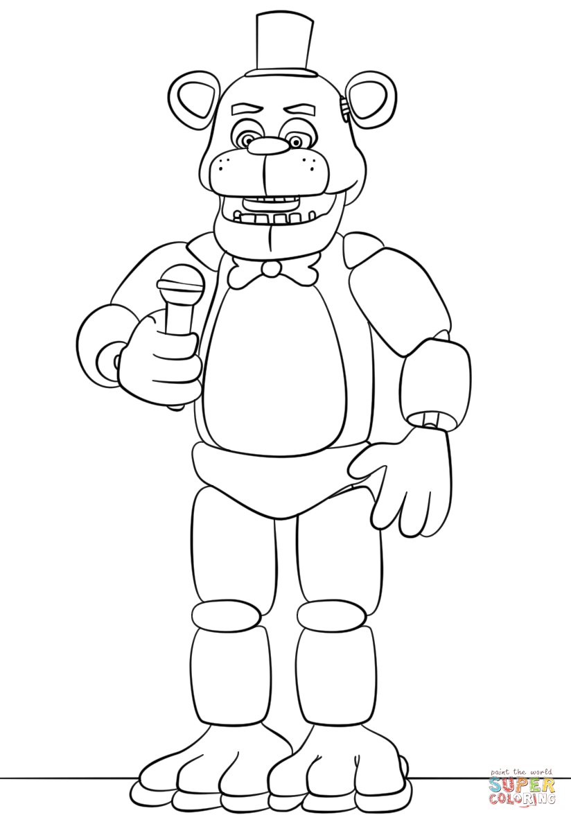 toy freddy coloring pages trends for fnaf funtime foxy coloring pages sugar and spice toy coloring freddy pages