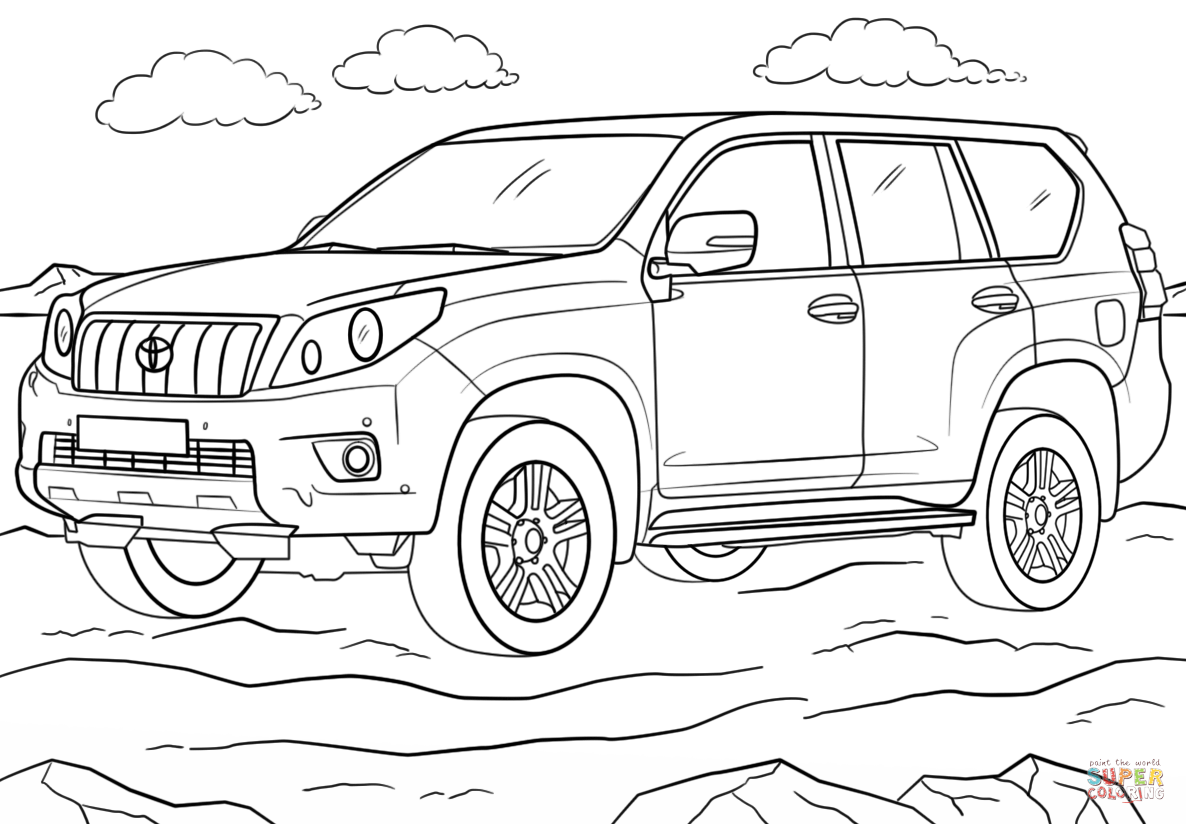 toyota car coloring pages super car toyota sequoia coloring page cool car printable coloring toyota car pages