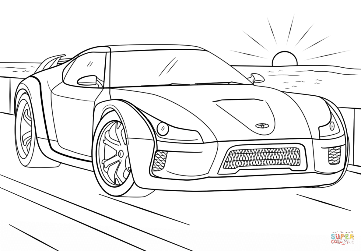 toyota car coloring pages toyota coloring pages coloring pages to download and print car toyota coloring pages